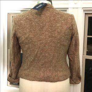 Eloquii Jackets & Coats - Eloquii boucle blazer tan BNWT 14w